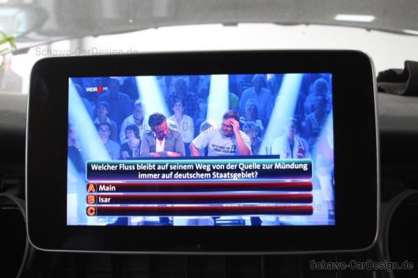 Umrüstung TV-Tuner DVB-T auf DVB-T2 HD | Comand NTG5/NTG5.5 | Original Mercedes-Benz