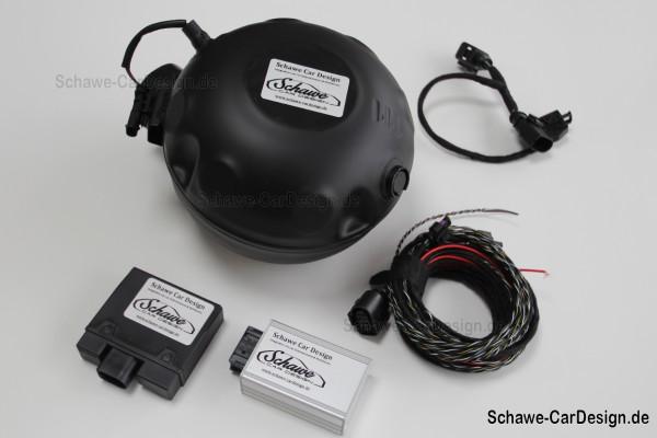Nachrüstung: Active Sound Exhaust System | Audi A4 B9 8W | V8 Motorsound mit App-Steuerung