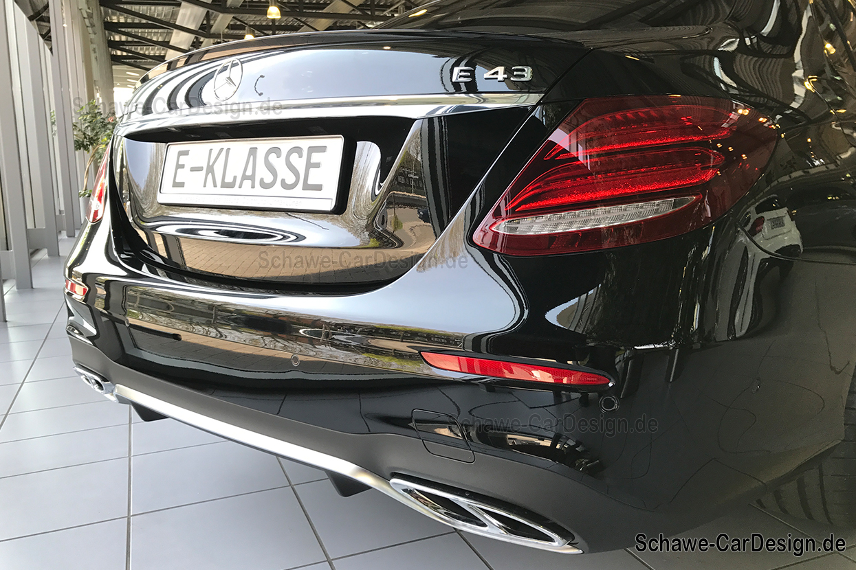 E43 amg auspuffblenden e klasse w213 original mercedes for Mercedes benz original