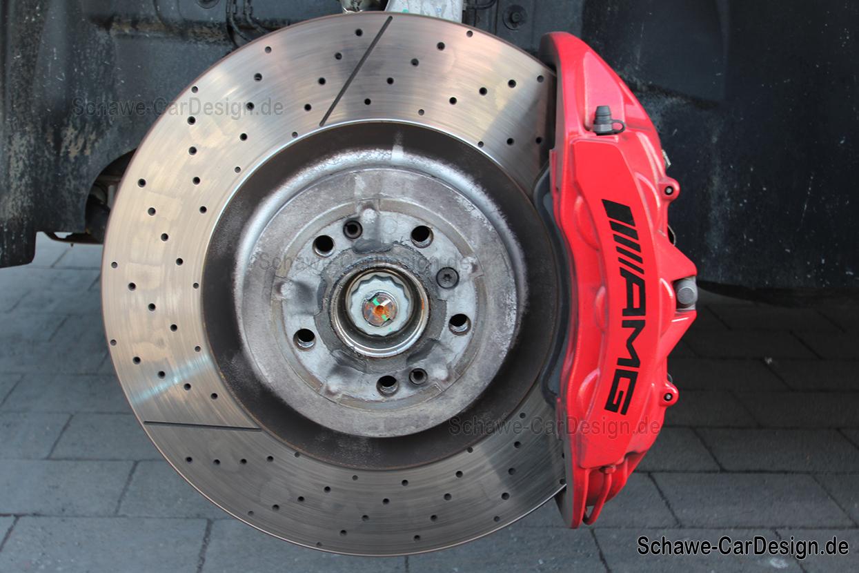 gle 63 amg bremssattel bremsanlage rot lackiert code u70 gle coup w292 orig ebay