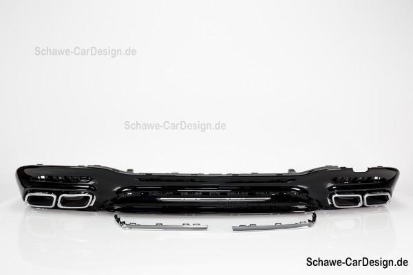 S63 AMG Diffusor mit Auspuffblenden | W222 S-Klasse | Original Mercedes-Benz