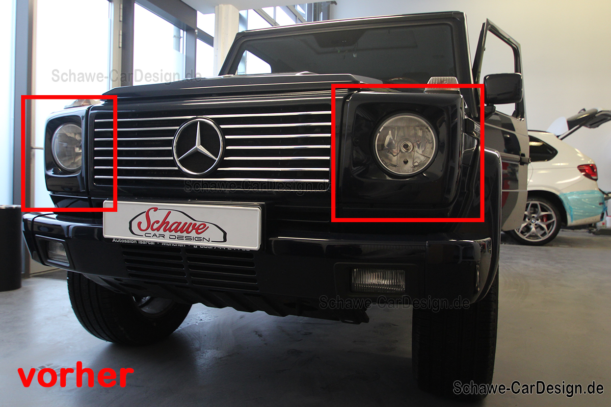 SCHAWE LED main headlights | G-Class W463 | special design