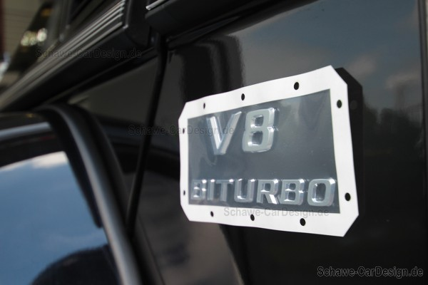 Typenkennzeichen V8 Biturbo | GLS W166 | Original Mercedes-Benz