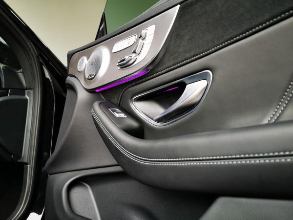 Erweiterung SCHAWE LED Ambientebeleuchtung Türen Fond | für Mercedes Benz C-Klasse S/W205 und GLC BR205
