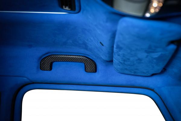 SCHAWE Carbon Abdeckung Haltegriff Dachverkleidung | G-Klasse W464 | Spezialanfertigung in matt oder Glanz