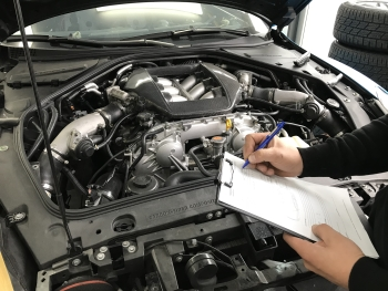 inspektion am motor