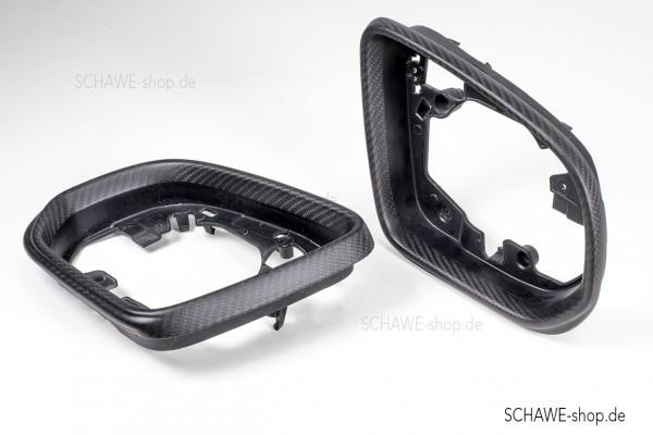 SCHAWE Carbon Rahmen Außenspiegel   G-Klasse W464   Carbon matt oder Glanz