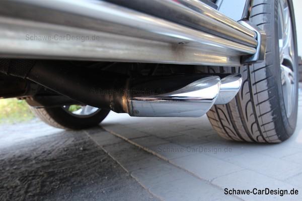 SCHAWE G63 AMG Auspuffanlage für G350 Diesel | G-Klasse W463 | Spezialanfertigung