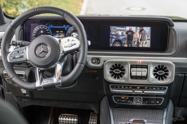 Nachrüstung DVBT2 TV-Tuner Code EM8   G-Klasse W464   Original Mercedes-Benz