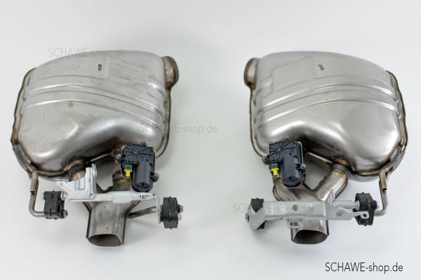 AMG Performance-Abgasanlage schaltbar Code U78 | CLS C257 | Spezialanfertigung