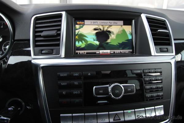Bild-Freischaltung | TV-Freischaltung | DVD-Freischaltung | TV-Free für Mercedes Benz M-Klasse W166