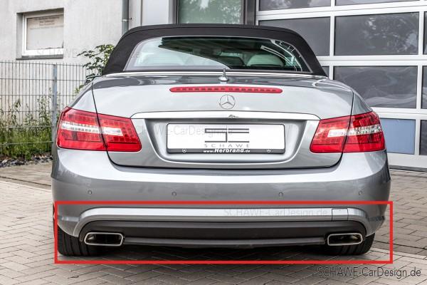 E500 Diffusor mit Auspuffblenden | E-Klasse Cabrio A207 oder Coupé C207 | Original Mercedes-Benz