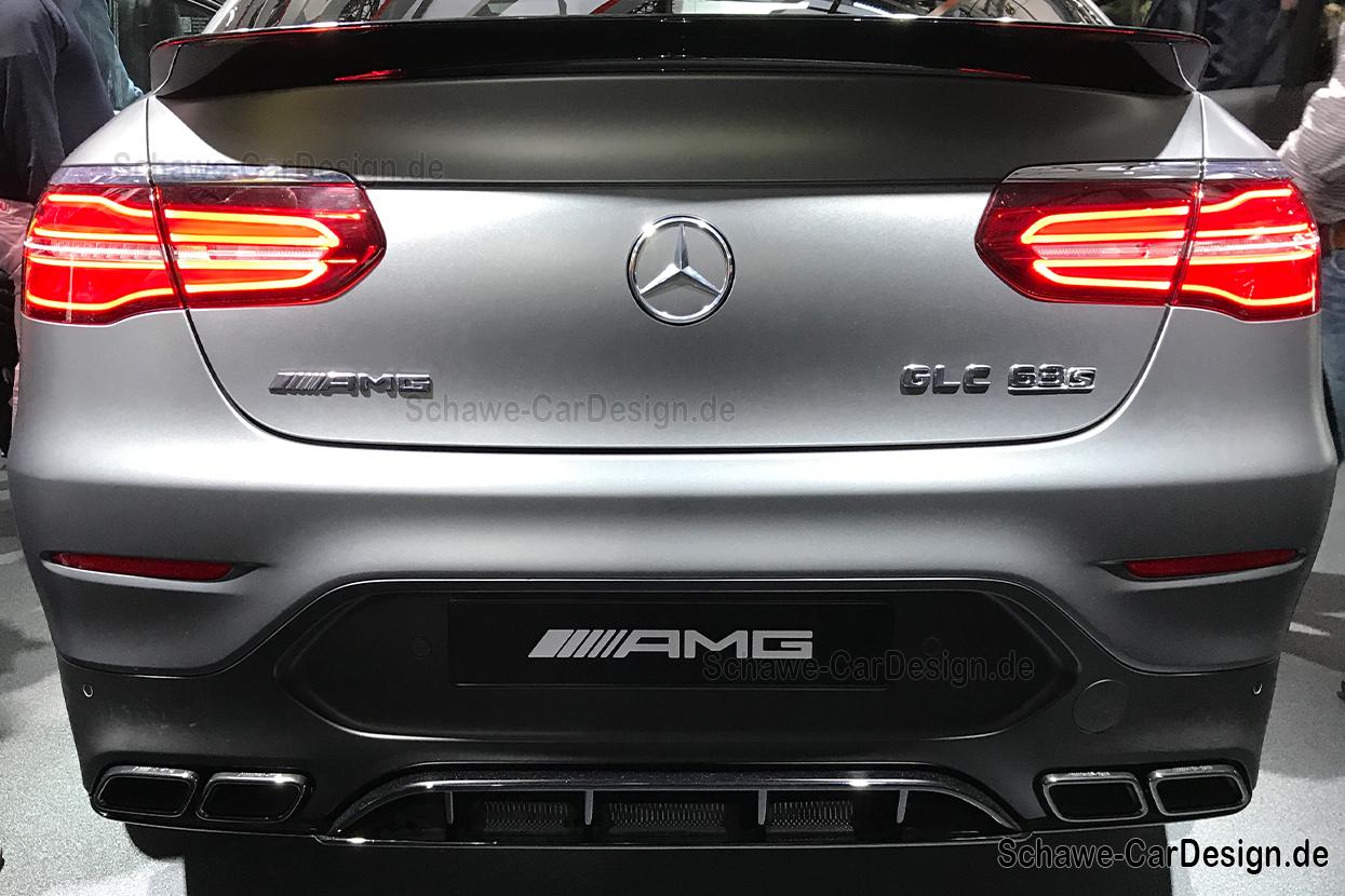 Nachr stung mercedes benz glc 63s amg diffusor mit for Mercedes benz b9 service