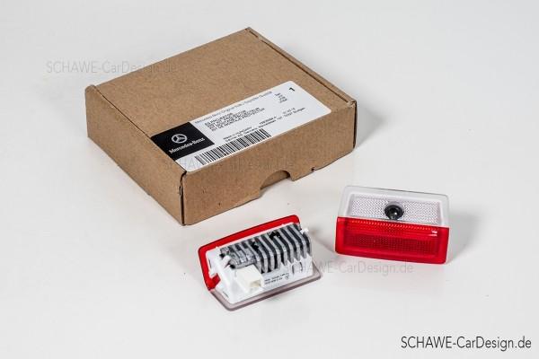 LED Logoprojektor | Set (2Stk.) für die Türen Mercedes-Benz