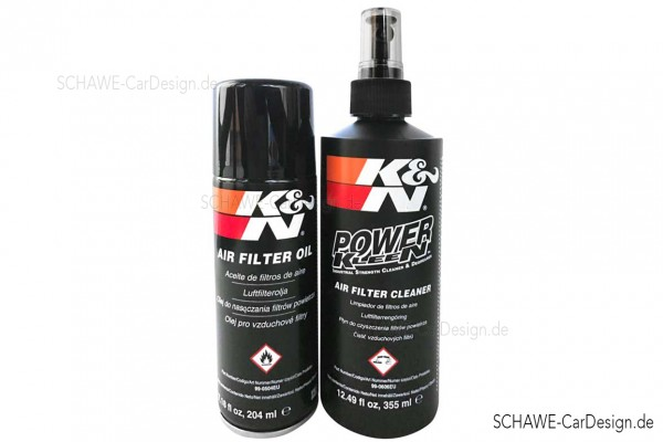 K&N Luftfilter | Wartungskit