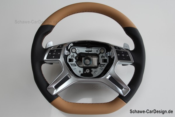 AMG Performance Lenkrad | G-Klasse W463 | M-Klasse und GL W166 | Spezialanfertigung