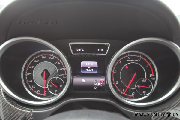 GLE 63 S AMG Tacho Kombiinstrument | GLE SUV W166 oder Coupé C292 | Original Mercedes-Benz
