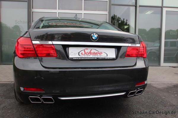 760i Diffusor Auspuffblenden | BMW 7er F01 | Original BMW