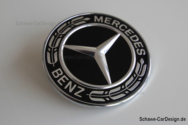 Mercedes Benz Emblem schwarz | Original Mercedes-Benz