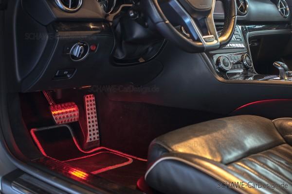 SCHAWE LED Ambientebeleuchtung | SL Cabrio R231 | individuelles Design