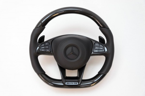 SCHAWE Carbon Performance Lenkrad | W205 C-Klasse | Spezialanfertigung