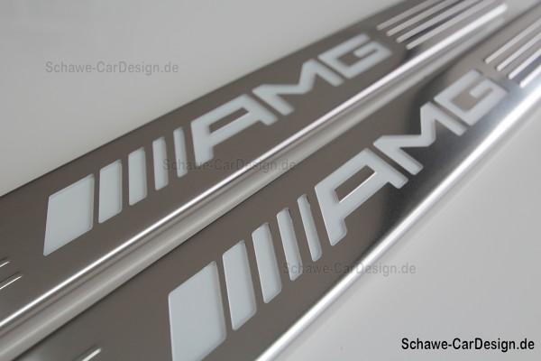 AMG Einstiegsleisten beleuchtet | S-Klasse W222 | Original Mercedes-Benz
