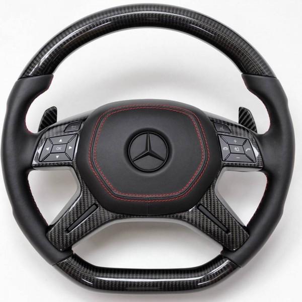SCHAWE Carbon Performance Lenkrad | W463 G-Klasse | M-Klasse und GL W166 | Spezialanfertigung