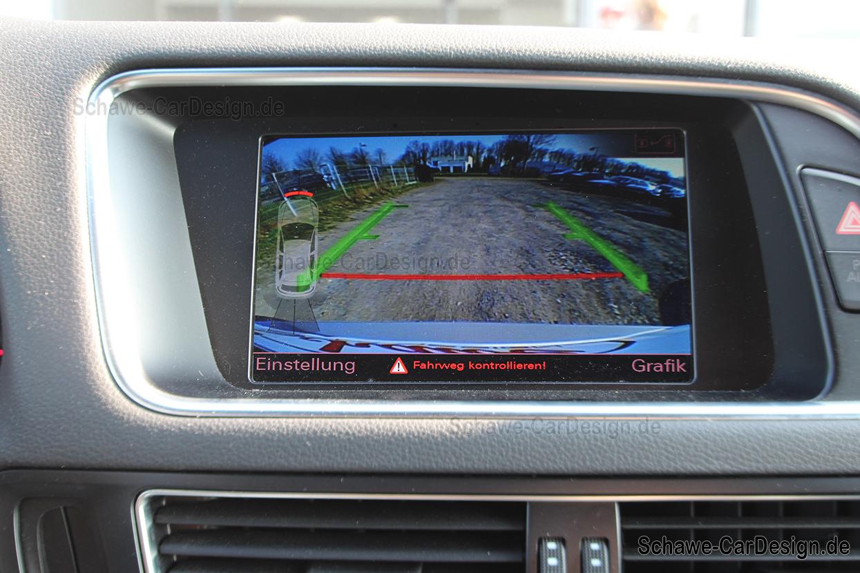 2016 Audi Q5 >> Nachrüstung Rückfahrkamera | Audi Q5 8R MMI3G | Original ...