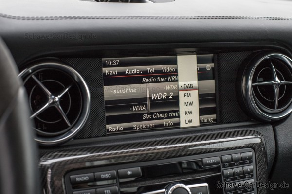 Digitales Radio DAB+ Code 537 | Comand NTG4.5 NTG4.7 | Original Mercedes-Benz