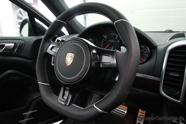 Airbag Abdeckung in Nappa Leder | Porsche Cayenne 958 | Panamera 970 | Spezialanfertigung