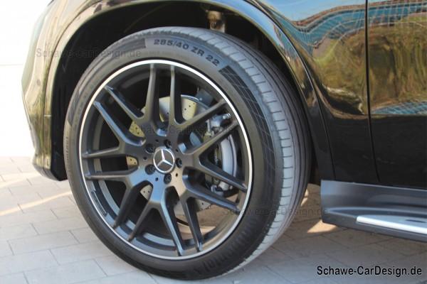 22 Zoll Felgensatz Kreuzspeichen GLE 63 AMG schwarz matt | GLE Coupé W292 | Original Mercedes-Benz