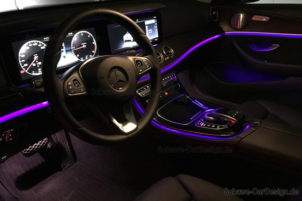 Nachrüstung LED Ambientebeleuchtung Code 877 | E-Klasse W213 | Original Mercedes-Benz