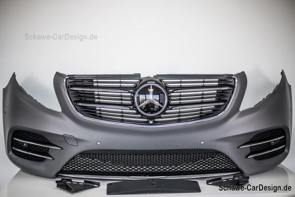 AMG Line Stoßstange vorne Frontschürze | V-Klasse W447 | Original Mercedes-Benz