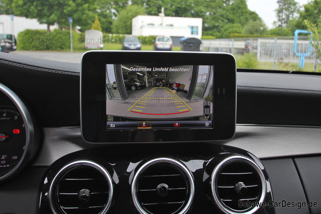 Retrofit rear view camera code 218 | C-Class Cabrio & Coupé W205 | Original  Mercedes-Benz